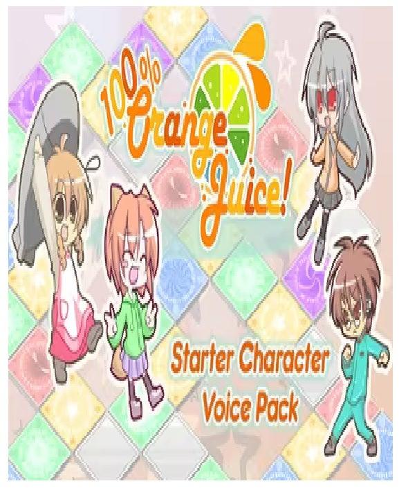 Fruitbat Factory 100 Percentage Orange Juice Starter Character Voice Pack PC Game