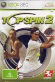 2k Sports Top Spin 2 Xbox 360 Game
