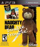 505 Games Naughty Bear Double Trouble PS3 Playstation 3 Game