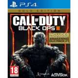 Activision Call Of Duty Black Ops III Gold Edition PS4 Playstation 4 Game