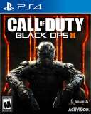 Activision Call Of Duty Black Ops III PS4 Playstation 4 Game