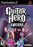 Activision Guitar Hero Encore Rocks the 80s PS2 Playstation 2 Game