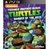 Activision Teenage Mutant Ninja Turtles Danger of the Ooze PS3 Playstation 3 Game