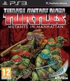Activision Teenage Mutant Ninja Turtles Mutants in Manhattan PS3 Playstation 3 Game