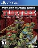 Activision Teenage Mutant Ninja Turtles Mutants in Manhattan PS4 Playstation 4 Game