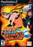 Bandai Namco Ultimate Ninja 4 Naruto Shippuden PS2 Playstation 2 Game