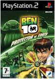 D3 Ben 10 Protector of the Earth PS2 Playstation 2 Game