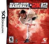 2k Sports Major League Baseball 2K12 Nintendo DS Game