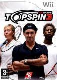 2k Sports Top Spin 3 Nintendo Wii Game