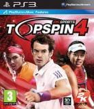 2K Sports Top Spin 4 PS3 Playstation 3 Game