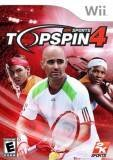 2K Sports Top Spin 4 Nintendo Wii Game