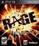 Bethesda Softworks Rage PS3 Playstation 3 Game