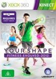 Ubisoft Kinect Your Shape Fitness Evolved 2012 Xbox 360 Game