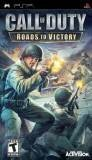 Activision Call of Duty Roads to Victory PSP Game