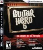 Activision Guitar Hero 5 PS3 Playstation 3 Game