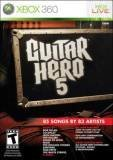 Activision Guitar Hero 5 Xbox 360 Game