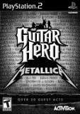 Activision Guitar Hero Metallica PS2 Playstation 2 Game