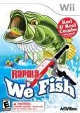 Activision Rapala We Fish Nintendo Wii Game