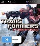 Activision Transformers War For Cybertron PS3 Playstation 3 Game
