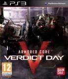 Bandai Armored Core Verdict Day PS3 Playstation 3 Game