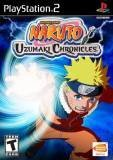 Bandai Naruto Uzumaki Chronicles PS2 Playstation 2 Game