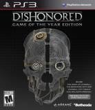 Bethesda Softworks Dishonored Game of the Year PS3 Playstation 3 Game