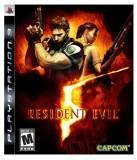 Capcom Resident Evil 5 PS3 Playstation 3 Game