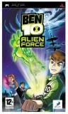 D3 Ben 10 Alien Force PSP Game