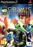 D3 Ben 10 Ultimate Alien Cosmic Destruction PS2 Playstation 2 Game