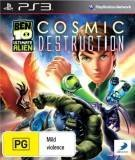 D3 Ben 10 Ultimate Alien Cosmic Destruction PS3 Playstation 3 Game