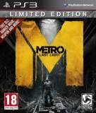 Deep Silver Metro Last Light Limited Edition PS3 Playstation 3 Game