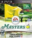 Electronic Arts Masters Tiger Woods PGA Tour 12 PS3 Playstation 3 Game