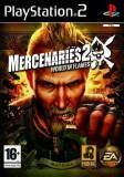 Electronic Arts Mercenaries 2 World In Flames PS2 Playstation 2 Game