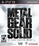 Konami Metal Gear Solid The Legacy Collection PS3 Playstation 3 Game