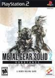 Konami Metal Gear Solid 2 Substance PS2 Playstation 2 Game