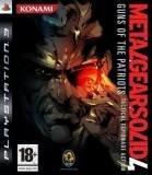 Konami Metal Gear Solid 4 Guns Of The Patriots PS3 Playstation 3 Game