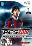 konami Pro Evolution Soccer 2010 Nintendo Wii Game