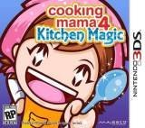 Majesco Cooking Mama 4 Kitchen Magic Nintendo 3DS Game