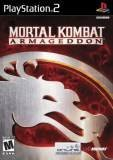 Midway Games Mortal Kombat Armageddon PS2 Playstation 2 Game