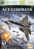 Namco Ace Combat 6 Fires Of Liberation Xbox 360 Game