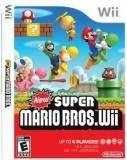 Nintendo New Super Mario Bros WII Game