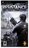 SCE Resistance Retribution PSP Game