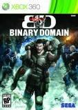 Sega Binary Domain Xbox 360 Game