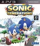 Sega Sonic Generations PS3 Playstation 3 Game