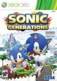 Sega Sonic Generations Xbox 360 Game