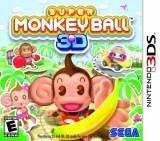 Sega Super Monkey Ball Nintendo 3DS Game