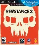 Sony Resistance 3 PS3 Playstation 3 Game
