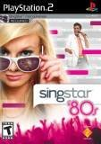 Sony Singstar 80s PS2 Playstation 2 Game