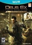 Square Enix Deus Ex Human Revolution Director's Cut Nintendo Wii U Game