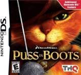 THQ Puss in Boots Nintendo DS Game